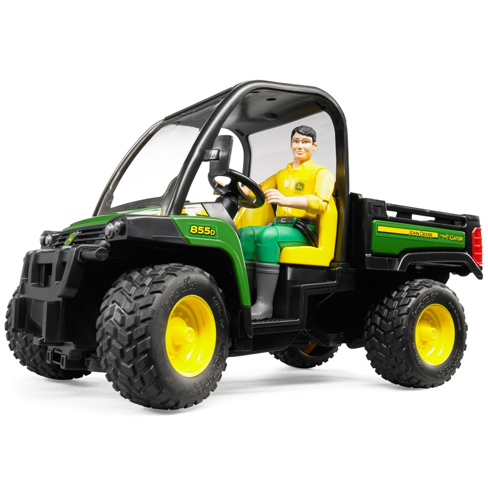 john deere gator xuv 855d with driver 02490 ebay. Black Bedroom Furniture Sets. Home Design Ideas