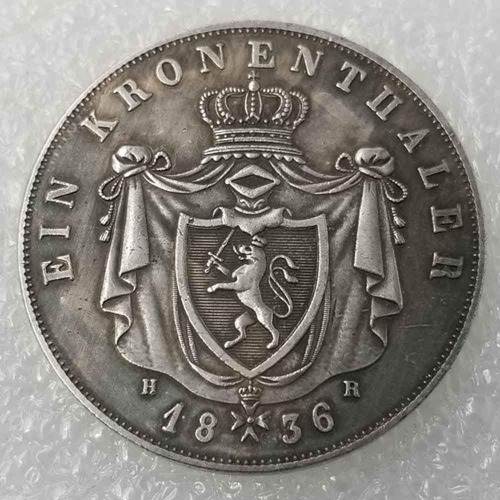 YunBest Antique German Morgan Silver Dollars – Ludwig II Old ...