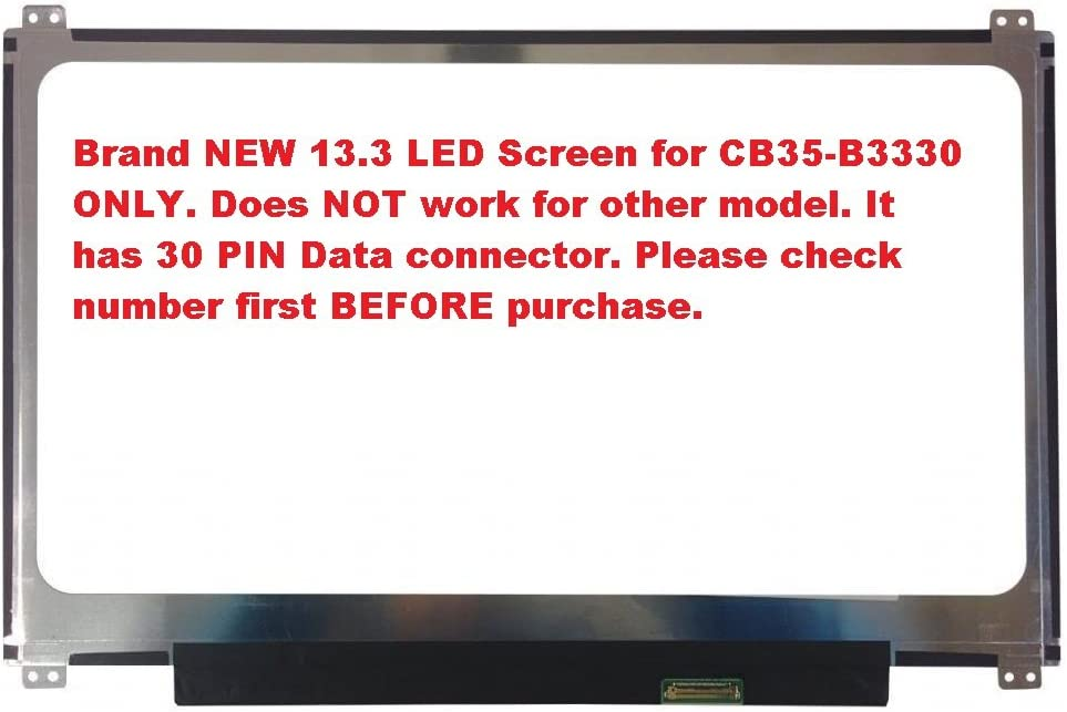 "Toshiba CB35-A3120 Chromebook 13.3/"" WXGA LCD LED Screen Display New"