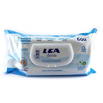 Lea Toallitas Húmedas Higiene Cuerpo Adulto ...