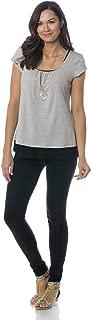 product image for Majamas Orchard Top - Soft Short Sleeve Maternity/Nursing/Breastfeeding Shirt