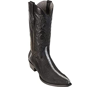 Original Full Row Black Stingray Boots