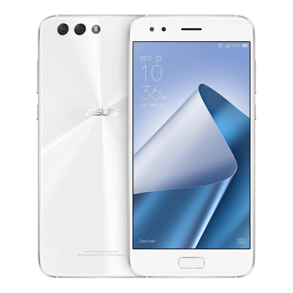 Asus Zenfone 4 Ze554kl 4gb 64gb 55 Inches Dual Sim Free Sg Retro Leather Flip Case 3 Ze552kl Inch Factory Unlocked International Stock No Warranty Midnight Black Cell Phones