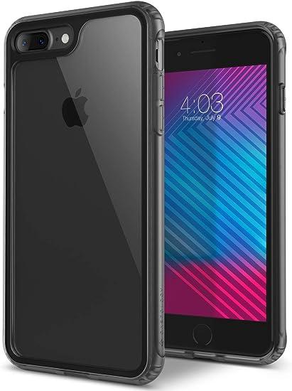 Amazon Com Caseology Coastline For Apple Iphone 8 Plus Case 2017 For Iphone 7 Plus Case 2016 Slim Transparent Frost Gray