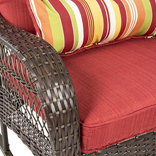 Greendale Home Fashions Hand Woven Pe Wicker Outdoor