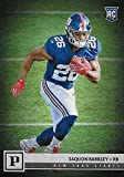 #9: Saquon Barkley 2018 Panini Short Printed Mint Rookie Card #313 Picturing this #2 NFL Draft Pick in his Blue New York Giants Jersey