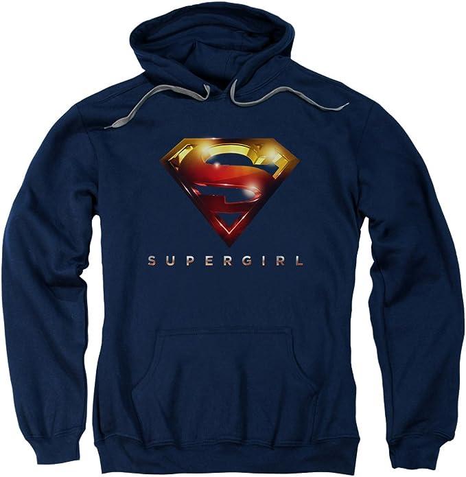 """Supergirl /""""Logo Glare/"""" Hoodie Long Sleeve"""