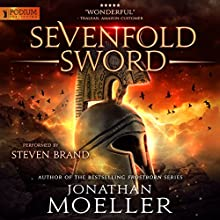 Sevenfold Sword Audiobook by Jonathan Moeller Narrated by Steven Brand