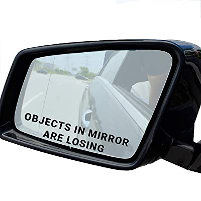 Objects in Mirror are Losing Decal Sticker Pack (1): Automotive
