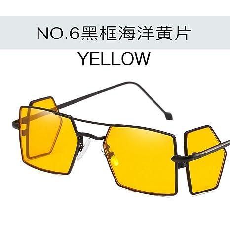 JUNHONGZHANG Creativo Personalizado Moda Gafas Gafas Gafas ...