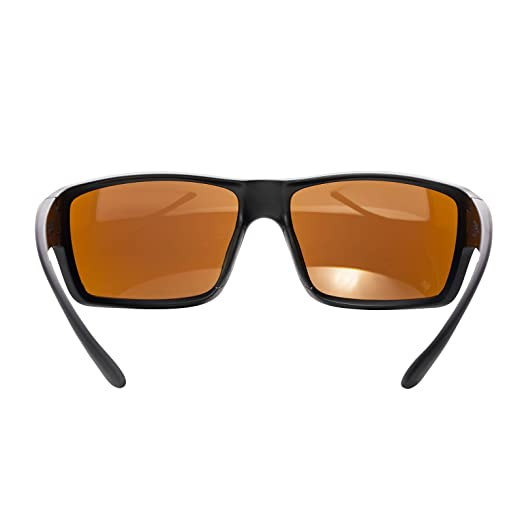 3acb844d56 Amazon.com   Magpul Summit Sunglasses Frame Bronze Lens with Blue Mirror