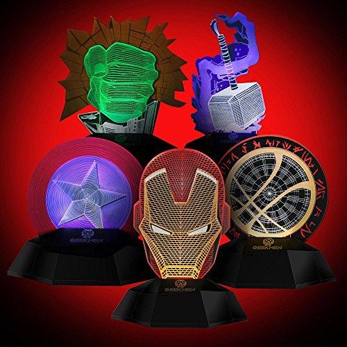 Super Hero Led Lights - 6