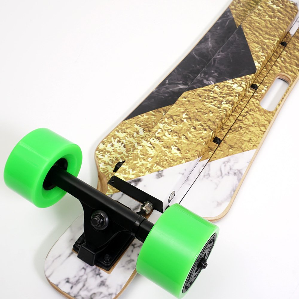 MightySkins Skin for Blitzart Huracane 38'' Electric Skateboard - Steam Punk Room | Protective, Durable, and Unique Vinyl Decal wrap Cover | Easy to Apply, Remove, and Change Styles | Made in The USA by MightySkins (Image #5)
