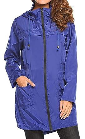 men/man first look good out x Women's Rain Jacket Windbreaker Raincoat Parka Functional ...
