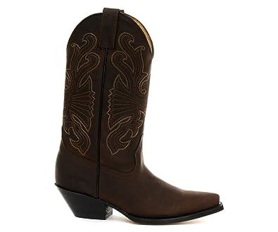 huge discount 4708c 0f92d Grinders Buffalo Braun Herren Cowboy Stiefel