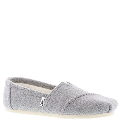 de17338f43386 TOMS Women's Classic Slip-On (9.5 B(M) US, Drizzle/Grey)