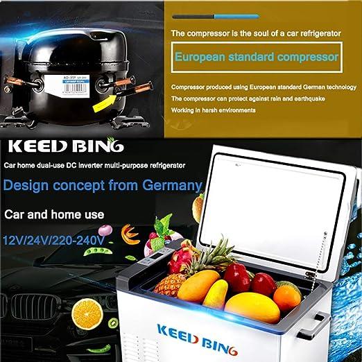 KEED BING Nevera Portatil Coche Mini Refrigerador CamióN 24V/12V ...