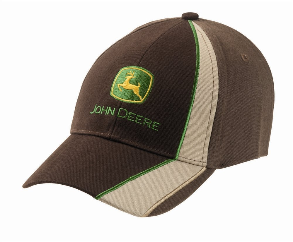 John Deere Gorra Racing color marrón/beis: Amazon.es: Bricolaje y ...