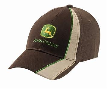 John Deere Gorra Racing color marrón/beis: Amazon.es: Bricolaje y ...