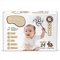 Fralda Descartável Ecológica Herbia Baby P com 24 unidades - Herbia
