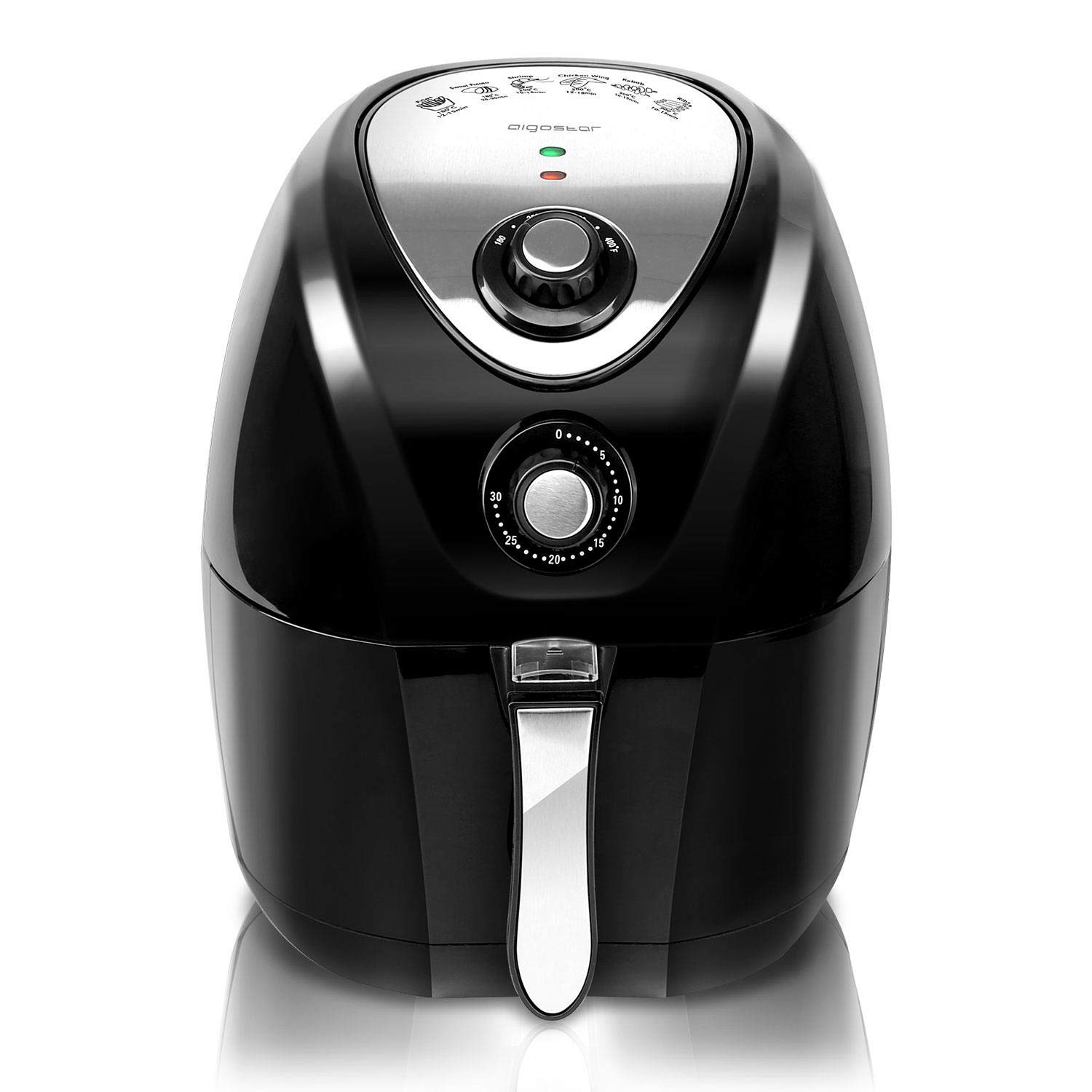 Aigostar Dragon Pro Air Fryer, 3.4Qt Electric Hot Air Fryers Oven Oilless Cooker with Detachable Non-stick Basket & Automatic Timer & Temperature Control for Fast Healthier Fried Food, 1400W by Aigostar (Image #9)