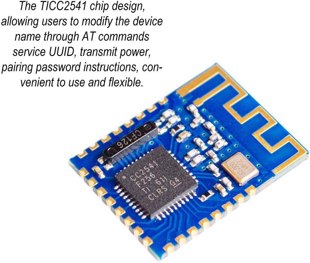 Candybarbar JDY-08 4.0 CC2541 Module de Commutation Centrale ma/ître-Esclave sans Fil pour Airsync iBeacon Uart Transceiver DIY