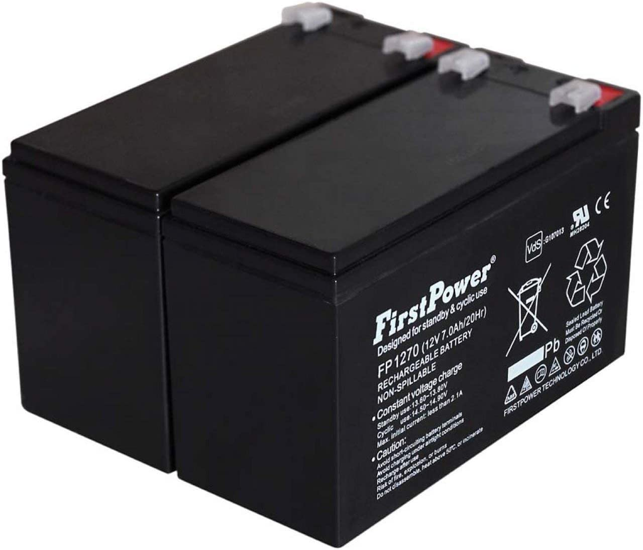 FirstPower Batería de Gel para SAI APC Smart-UPS SMT750I 7Ah 12V