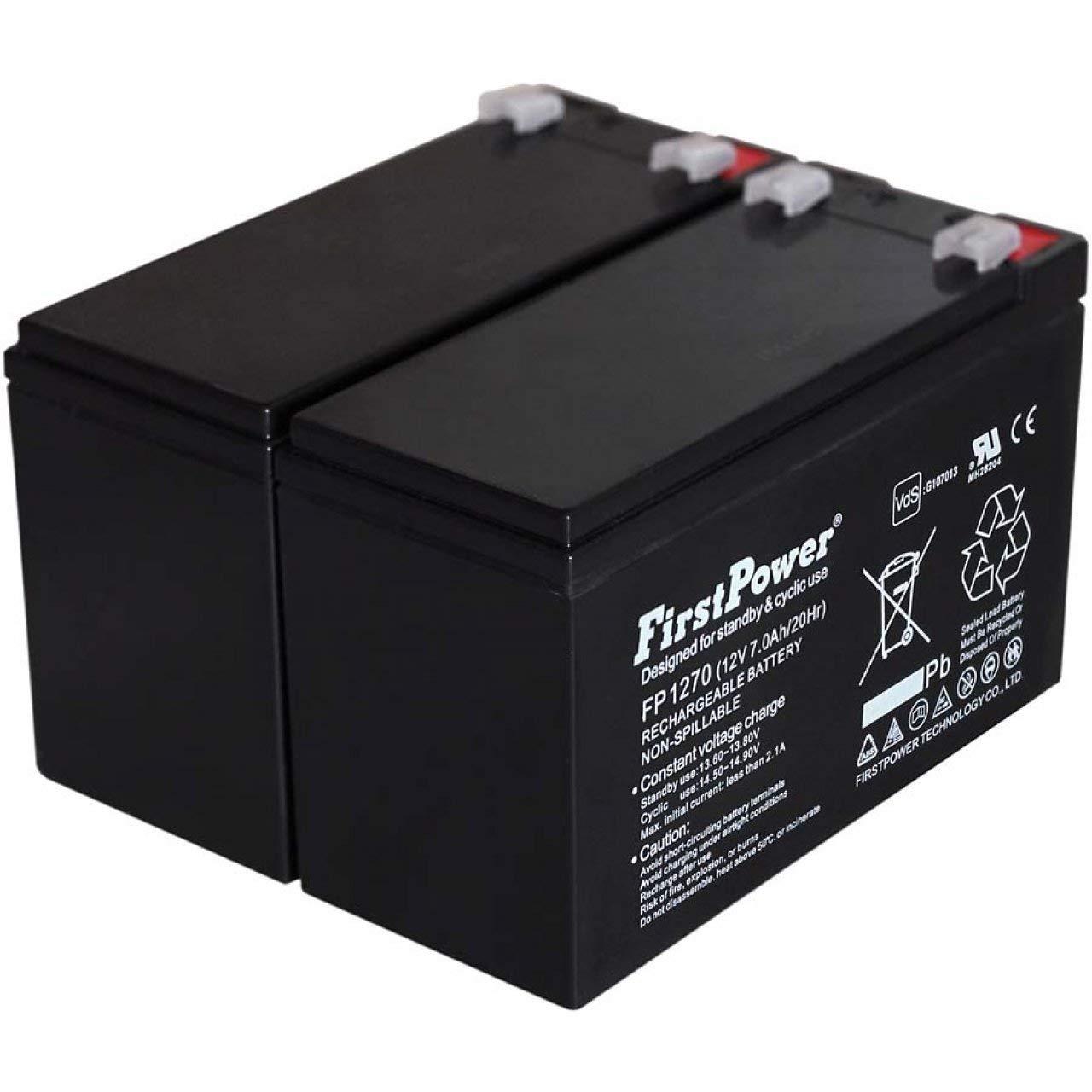 FirstPower Batería de GEL para SAI APC Smart-UPS SMT750I 7Ah 12V: Amazon.es: Electrónica