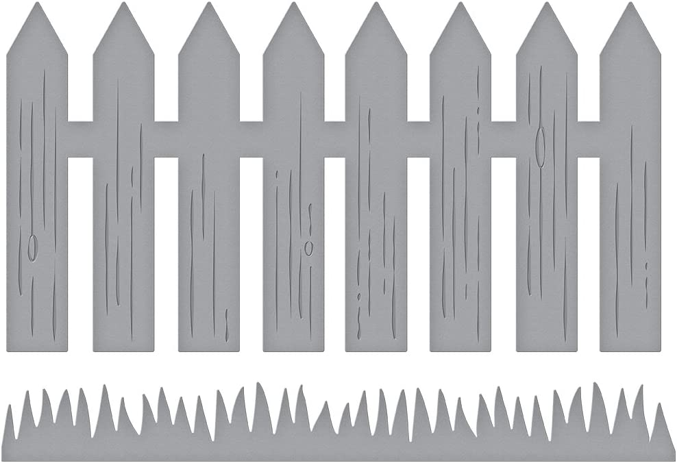 Spellbinders D-Lites Picket Fence Etched/Wafer Thin Die