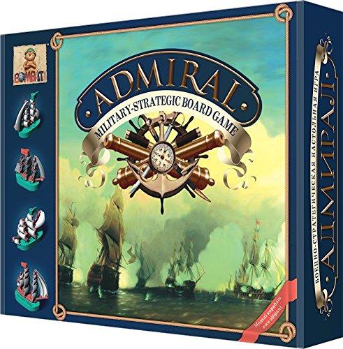 New Battleship! Military Board Game Admiral, Strategic Board - Battleship Board Game Original