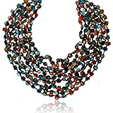 Gem Stone King 20 Inch MultiColor Simulated Shell