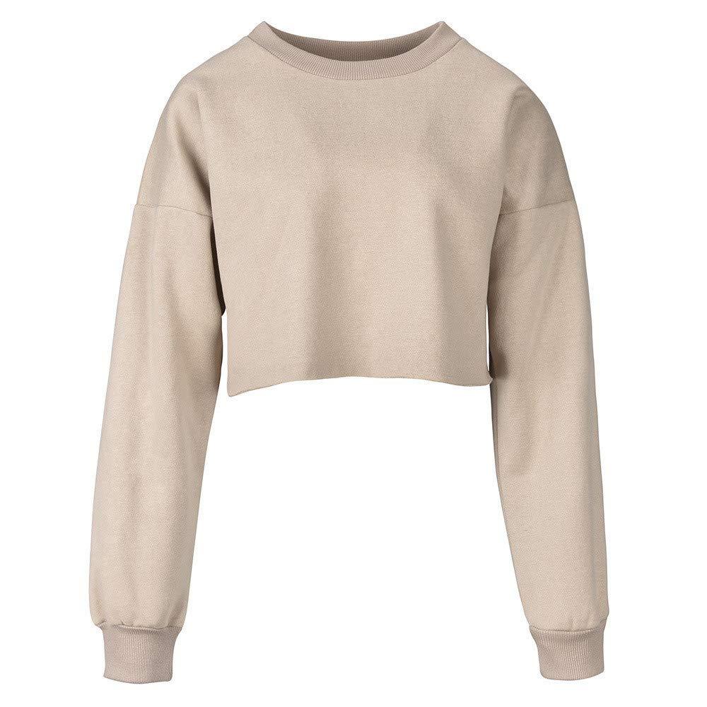 Sudaderas para Mujer,RETUROM 2018 Moda Mujeres Casual Color Block Sweatshirt Jumper Pullover Blusa: Amazon.es: Ropa y accesorios