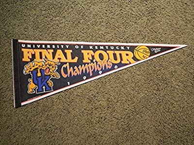 1996 NCAA Final Four Champions KENTUCKY WILDCATS BASKETBALL PENNANT