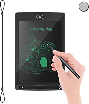 Color : Pink, Size : 8.5 inches LCD Writing Tablet Drawing Tablet Doodle Board for Kids Electronic Digital Notepad for School Office Home LCD Drawing Board
