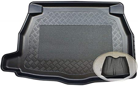 Zentimex Z3079782 Antirutsch Kofferraumwanne Fahrzeugspezifisch Klett Organizer Laderaumwanne Kofferraummatte Auto