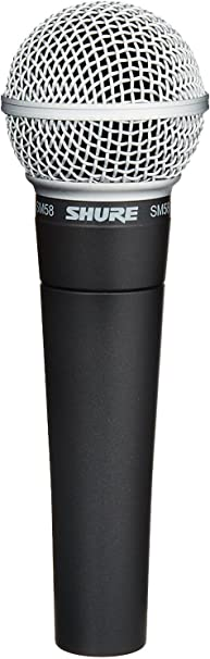 Shure SM58-LC Cardioid Dynamic Vocal Microphone,Black