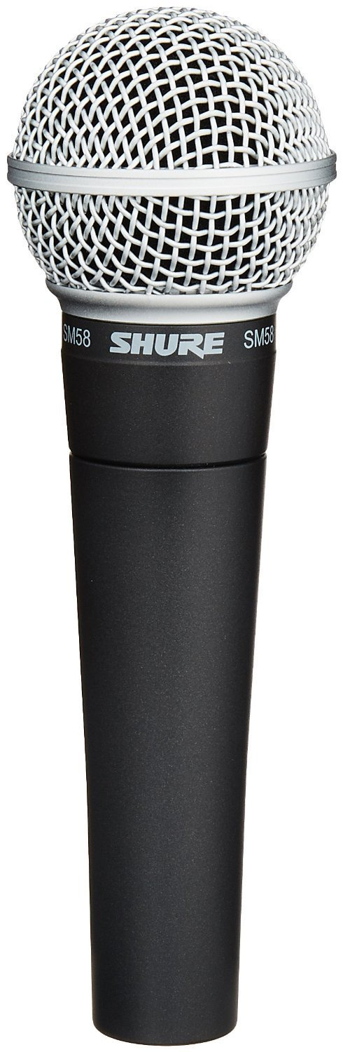 Shure SM58-LC Cardioid Vocal Microphone without Cable product image
