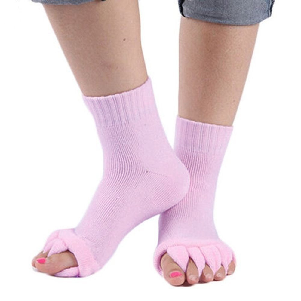 Yoga Shoes For Bunions: Amazon.com: ZWZCYZ 1Pair Comfy Toes Foot Alignment Socks