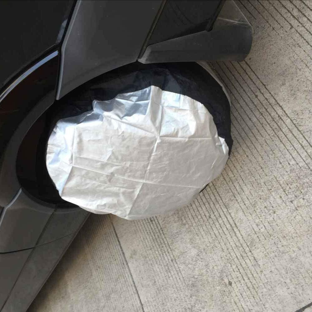 XINdream Seasonal Tire Tote Tire Case Car Spare Tire Cover Tote Polyester Tire Storage Bags Car Wheel Protection Portable Wheel Bags