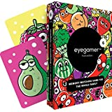 Eyegamer Memory Matching Card Game for Kids and Adults - Fruits and Vegetables Edition - Improves Memory, Focus and Concentration - No Reading Skills Required - Memorize and Match Cards - 52 Cards