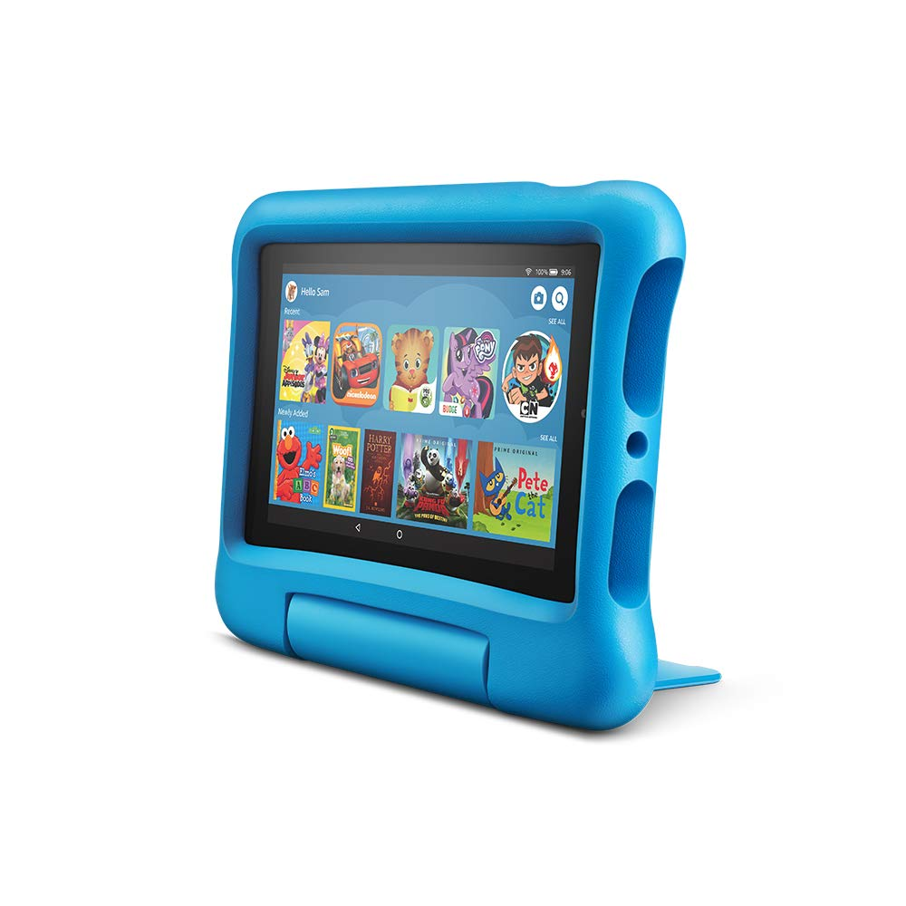 All-New Fire 7 Kids Edition Tablet, 7'' Display, 16 GB, Blue Kid-Proof Case by Amazon