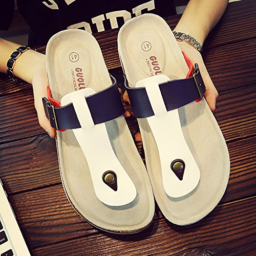 38 A Con Pantofole Zhangrong Grandi Dimensioni Uomo B Casual colore Ciabatte w1qSxzf01