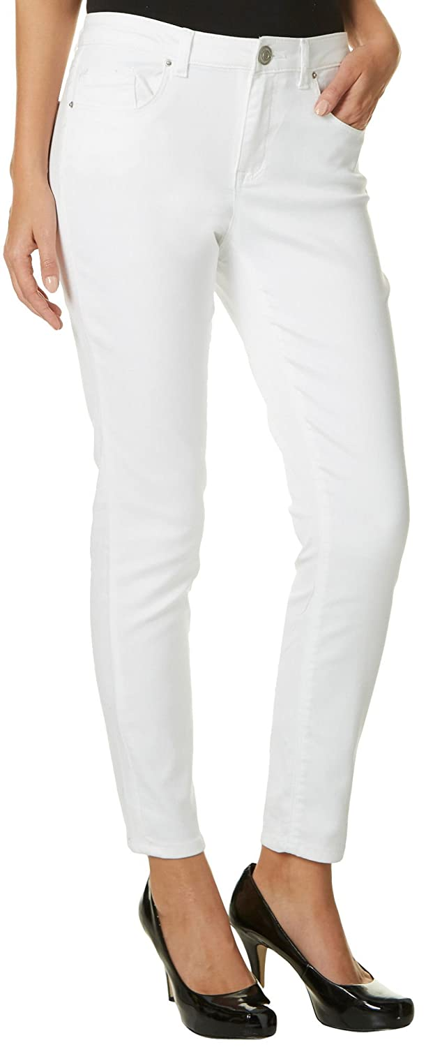 Almost Famous Juniors Mid Rise Solid Jeggings for cheap