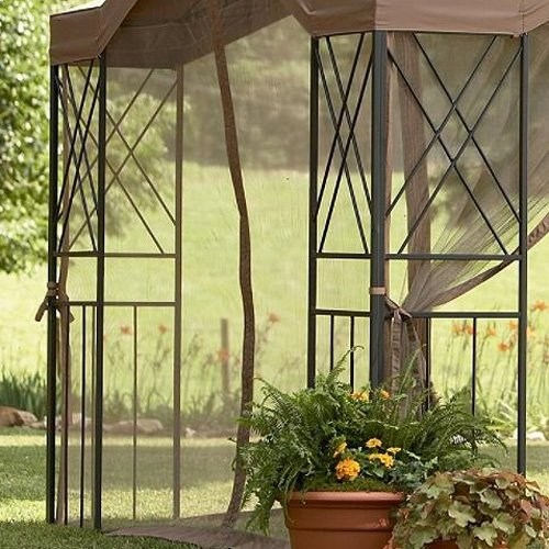Deluxe Pagoda Gazebo Replacement Canopy Gazebos Patio
