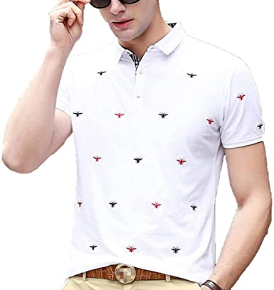 Polo Bordado para Hombre Golf De De Tenis Camisas Camisa De ...