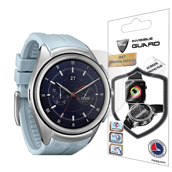For LG Watch Urbane 2nd Edition Screen Protector (2 Units) Invisible Ultra HD Clear Film Anti Scratch Skin Guard - Smooth / Self-Healing / Bubble ...