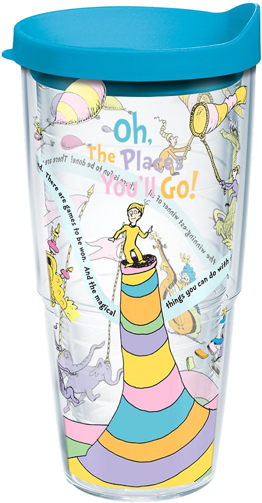 Amazoncom Tervis 1131383 Dr Seuss Oh The Places Youll Go