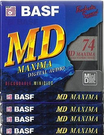 Basf Md74 Maxima Digital Audio Recordable Minidiscs Elektronik