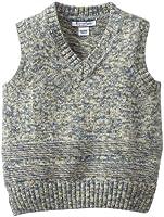 Kitestrings Little Boys' Toddler Boy Marled Yarn V-Neck Sweater Vest