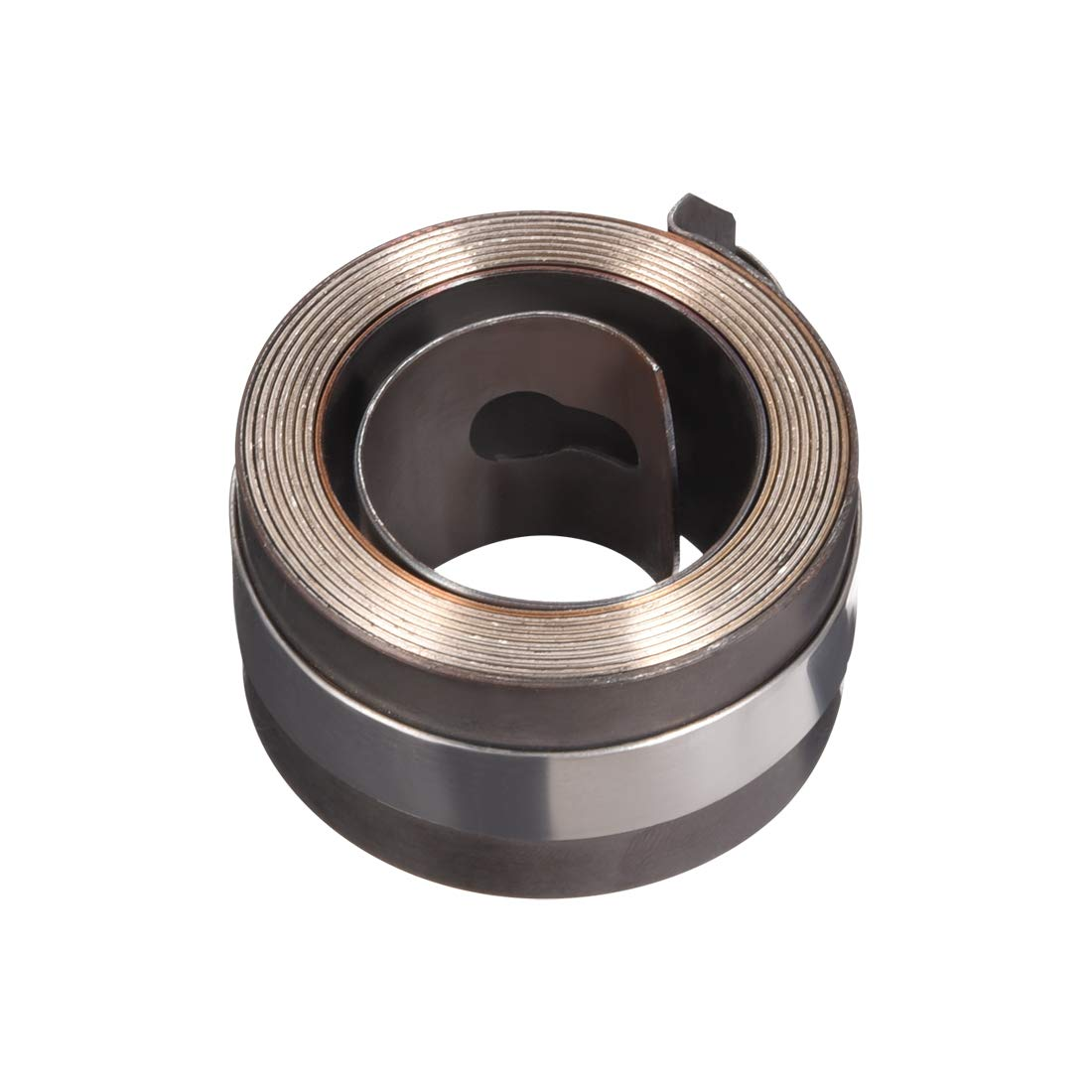 uxcell Drill Press Spring, Quill Feed Return Coil Spring Assembly, 3.6Ft Long, 44 x 25 x 0.7mm